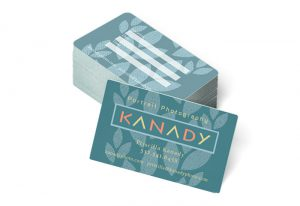 Logo & business card design - Kanady Portrait Photography