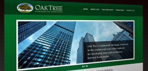 Web Site for Oak Tree Commercial Mortgage
