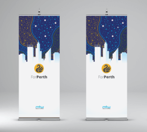 Perth Missionary Trade Show Banners